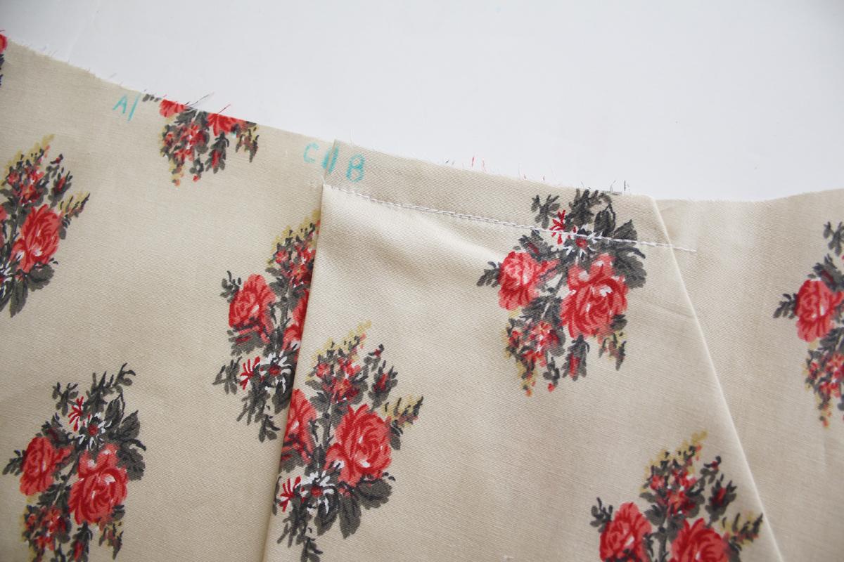 How to sew the skort version of the Harper shorts Megan Nielsen Patterns