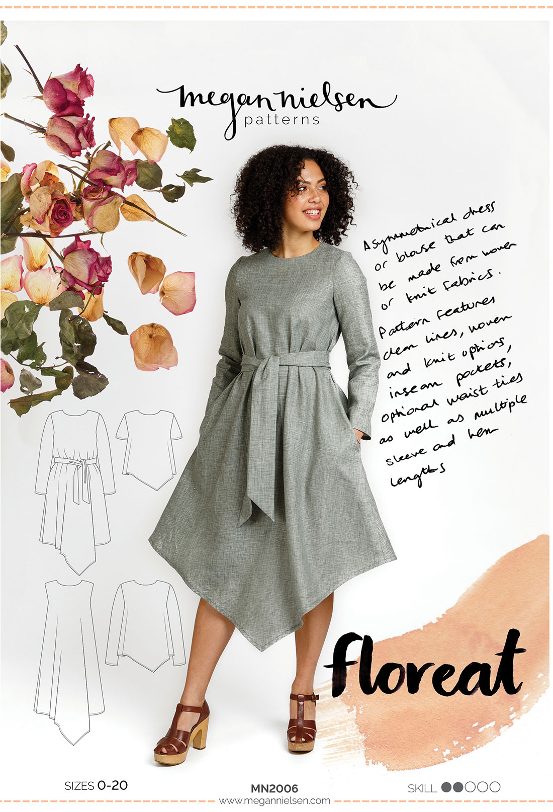 Megan Nielsen Floreat sewing pattern