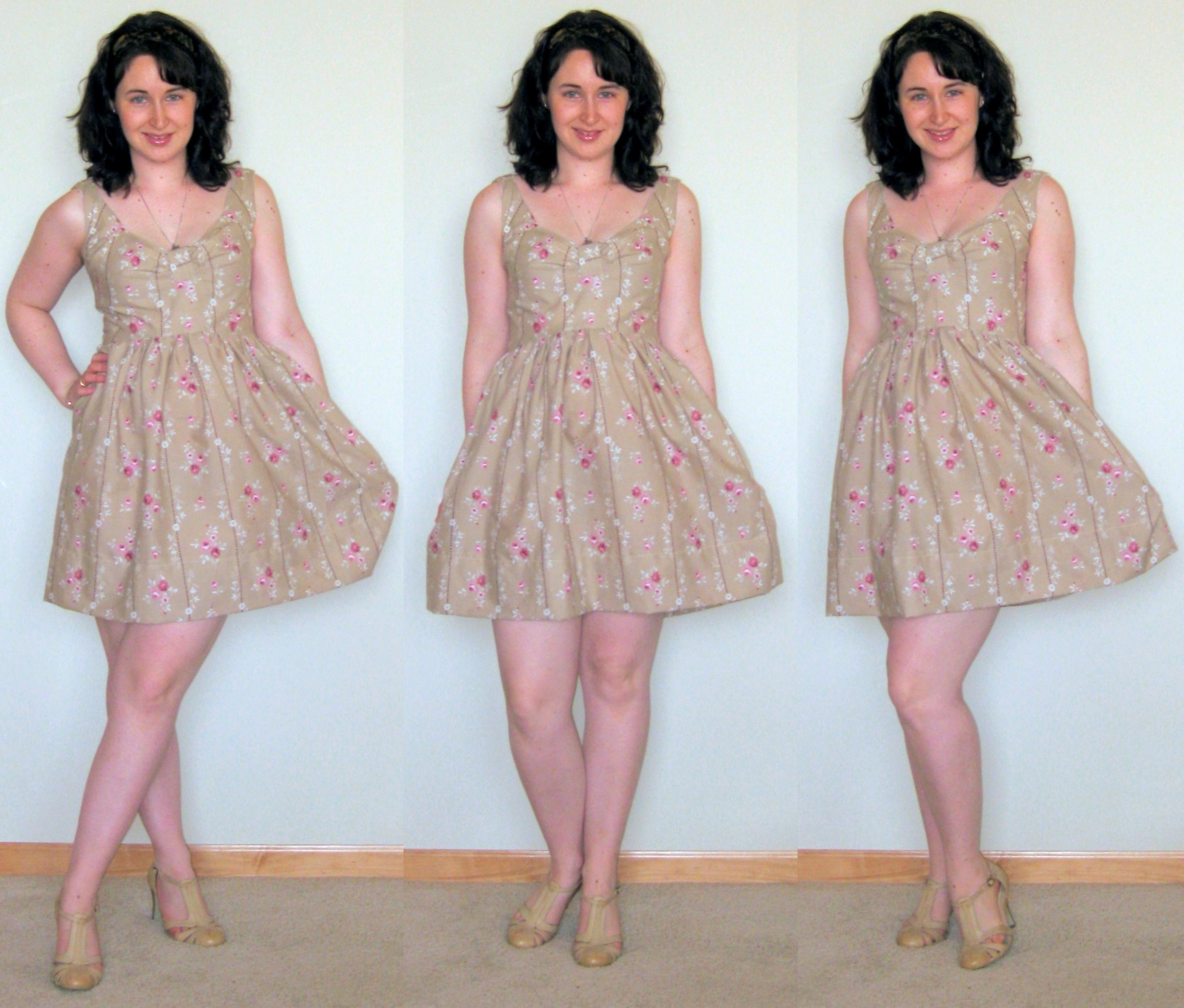 fec013030 A very girly dress from two pillowcases — megan nielsen design diary