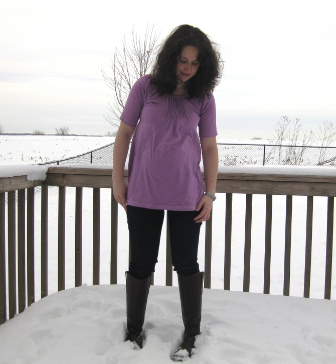 tshirt to maternity tunic after 1
