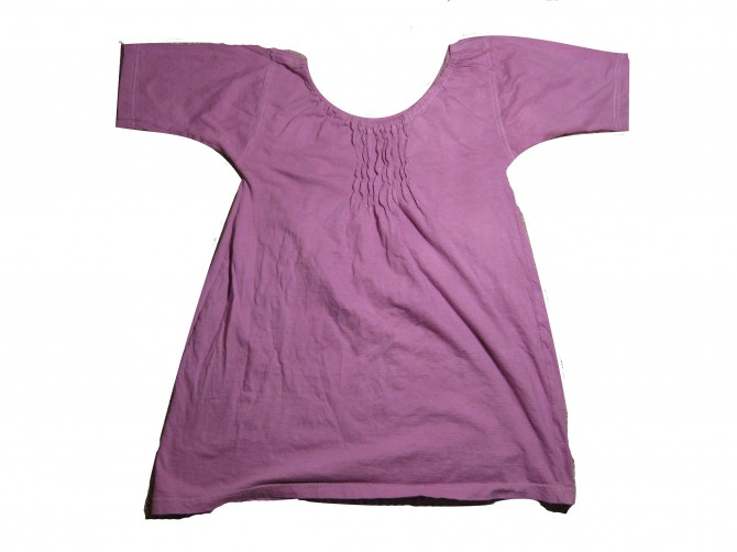 tshirt to maternity tunic after details 1