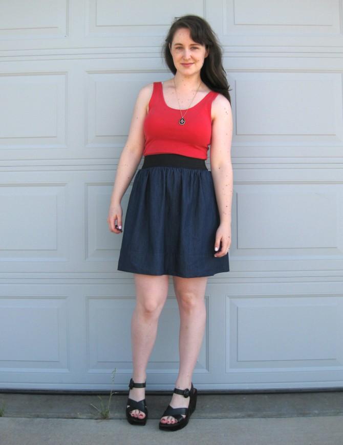 DIY Tank Dress