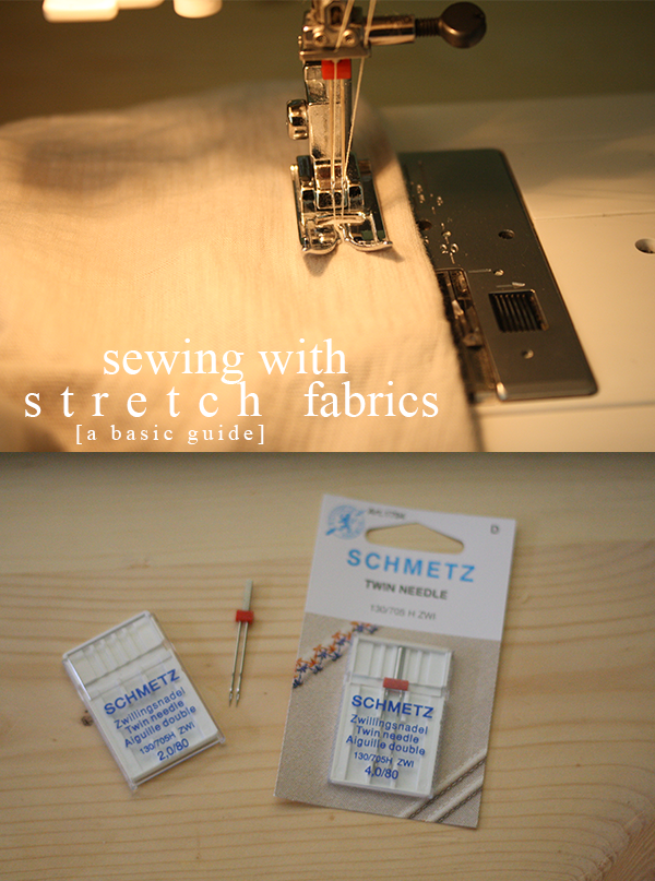 A basic guide to sewing with stretch fabrics // @megan_nielsen
