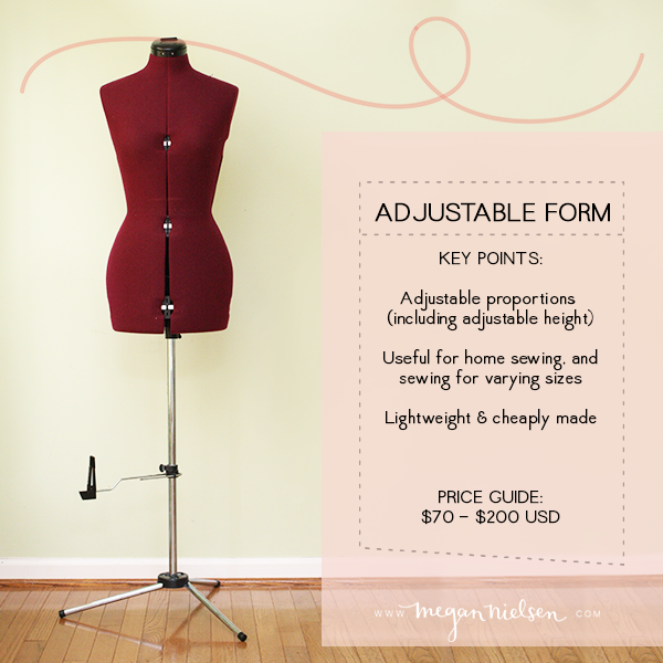 buying a dress form or mannequin — megan nielsen design diary