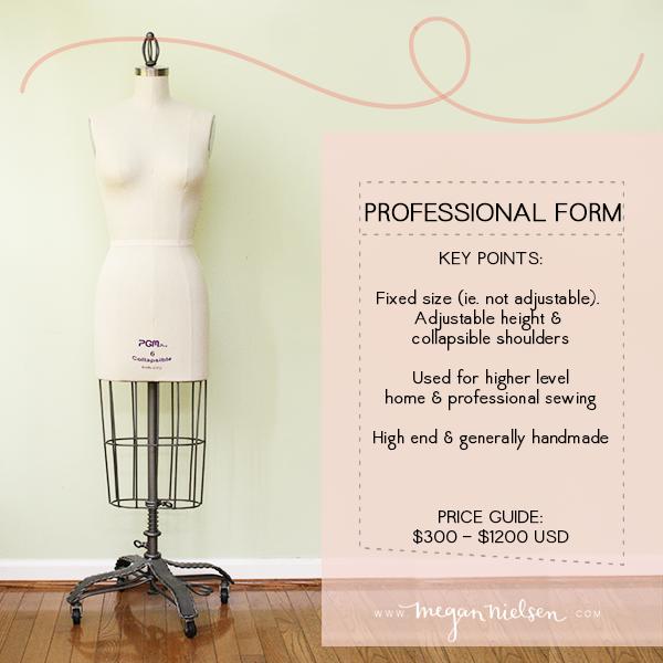 Professional dress form pros & cons