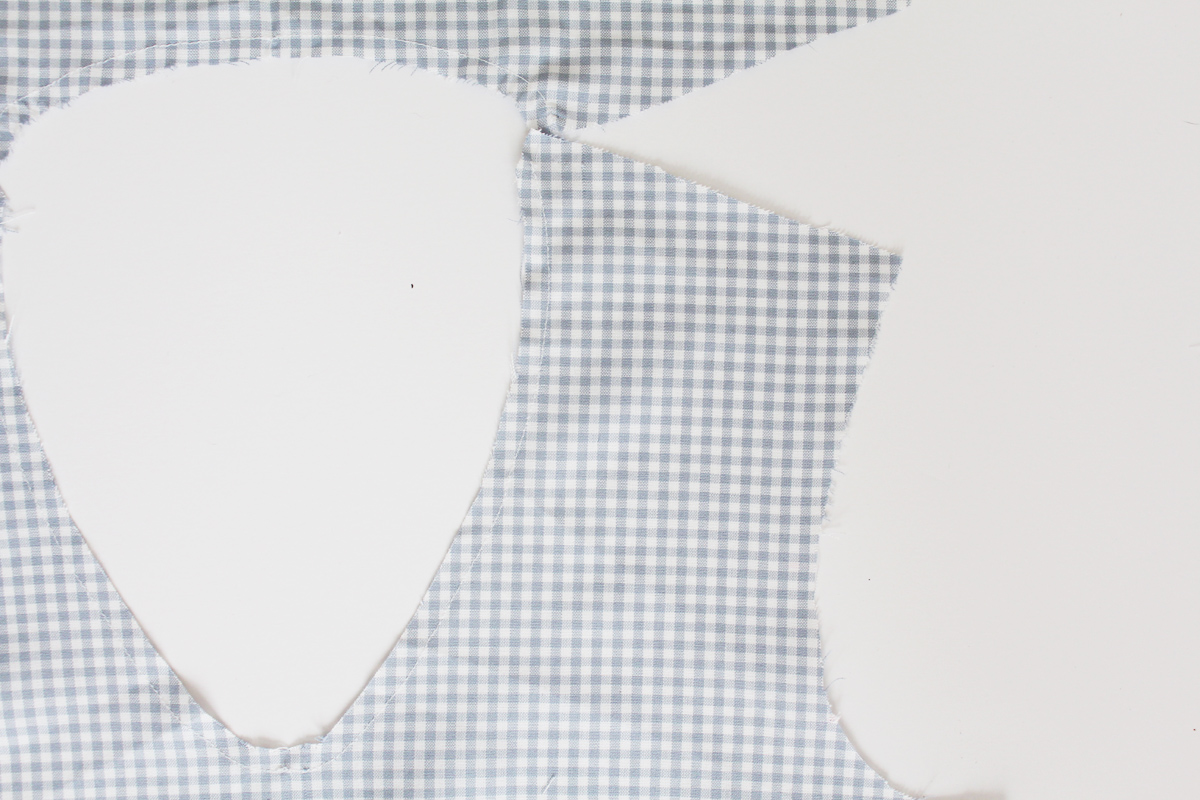 Basting and Placket Prep on the Banksia Blouse // tutorial on Megan Nielsen Design Diary