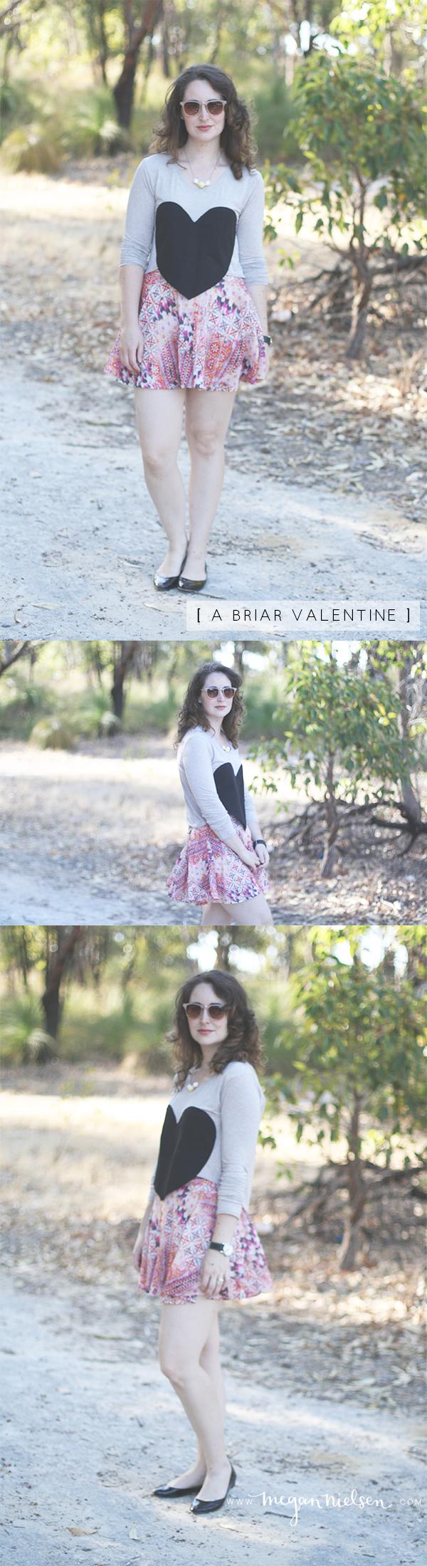 A Valentine Briar // Megan Nielsen