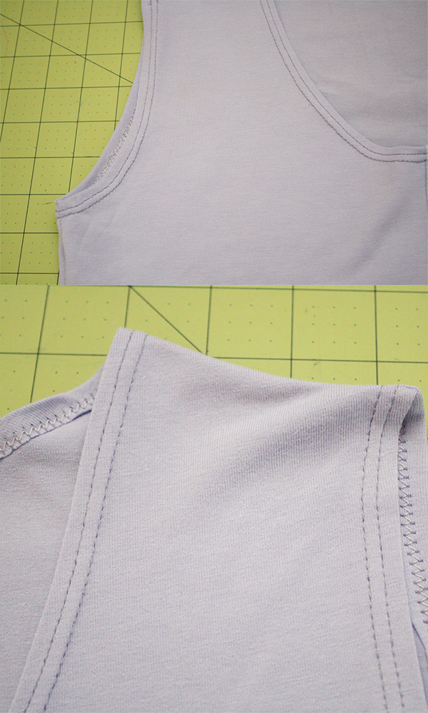 A quick way to make a sleeveless Briar top // Megan Nielsen Design Diary