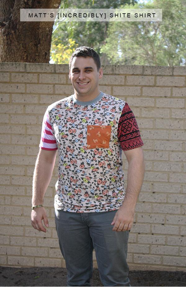 Matt's incredibly shite shirt