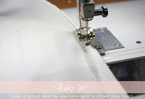 40 Ways To Sew A Rolled Hem Megan Nielsen Design Diary Best How To Hem With A Sewing Machine
