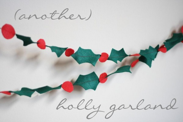 Another Holly garland
