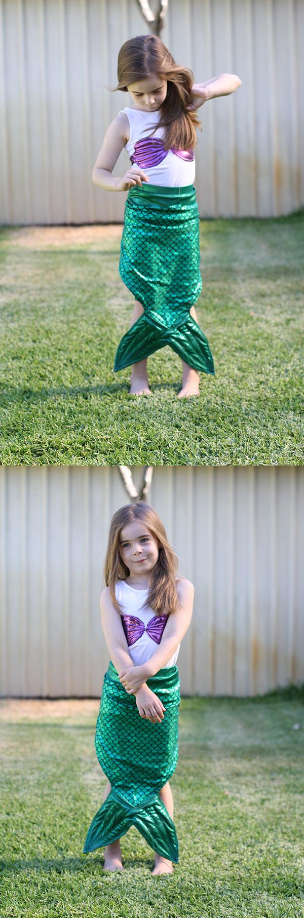 Megan Nielsen Design Diary // The Little Mermaid Costume