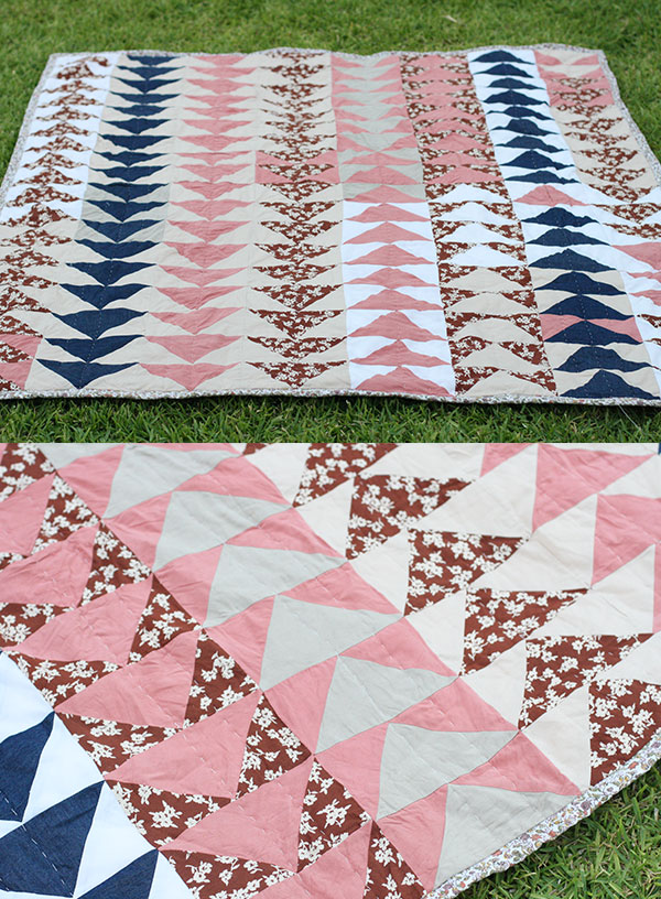 Megan Nielsen Collection scrap quilt //2
