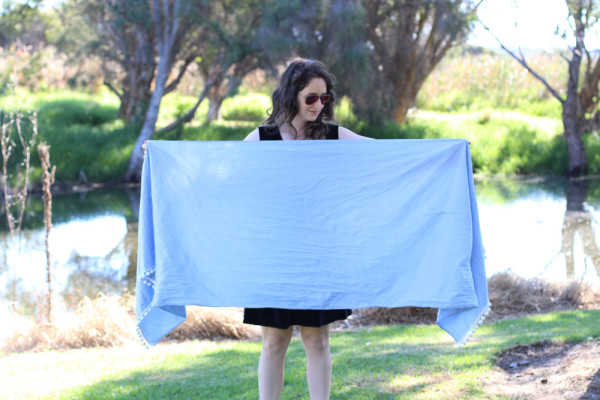 how to make a rebozo carrier 1