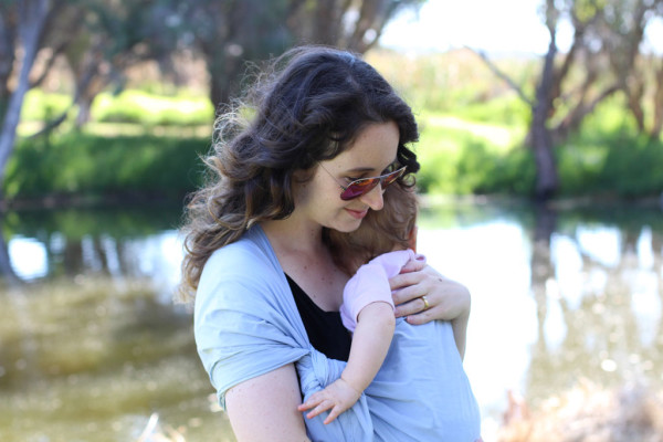 Tutorial How To Make And Wear A Rebozo Style Baby Carrier Megan