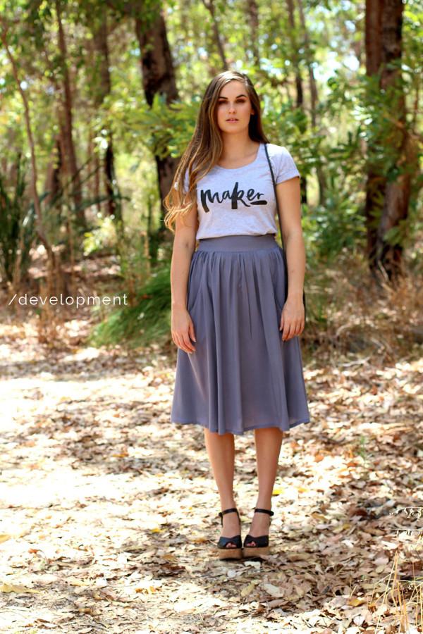 Megan Nielsen Brumby skirt