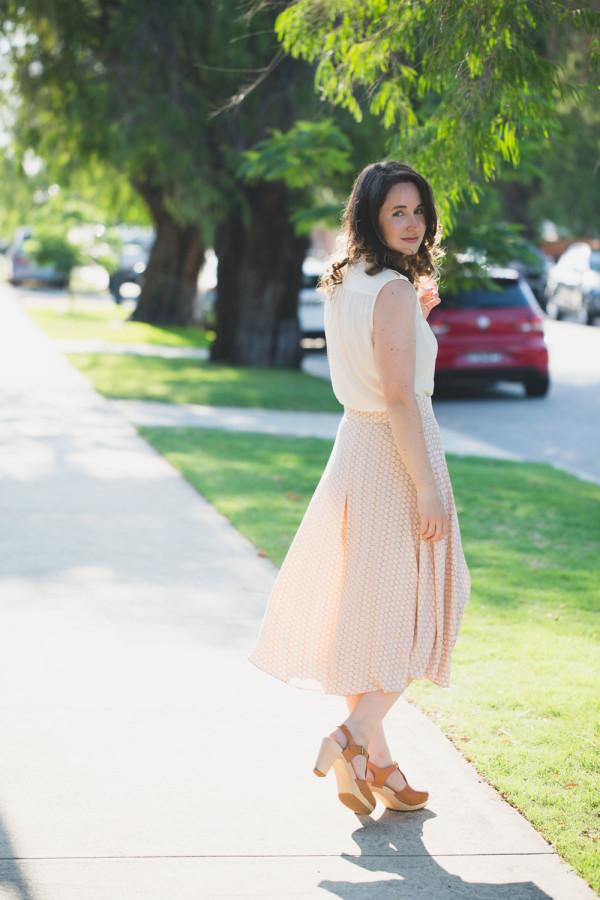 Megan Nielsen Tania culottes sewing pattern // version 3