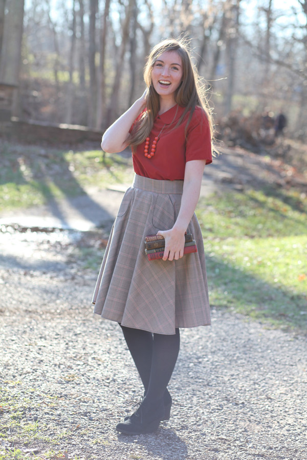 Megan Nielsen Veronika skirt FREE sewing pattern
