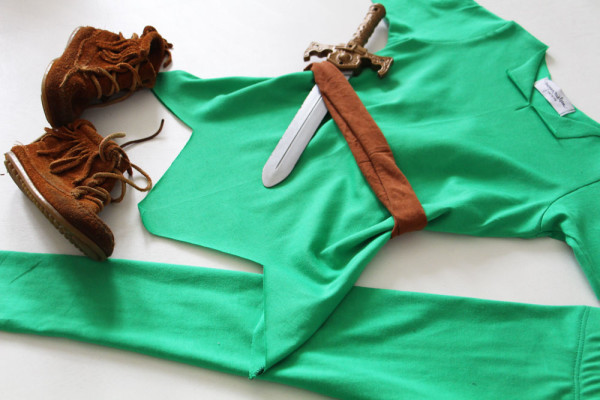 Peter Pan costume // Megan Nielsen Design Diary