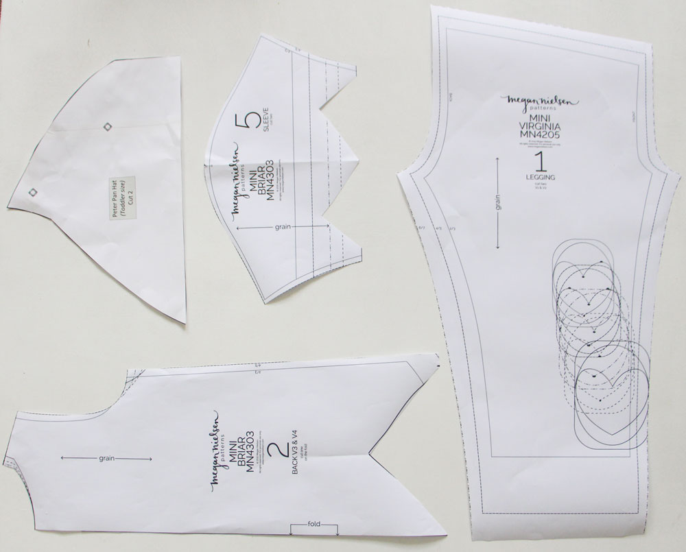 7cccefbc Peter Pan costume pattern — megan nielsen design diary
