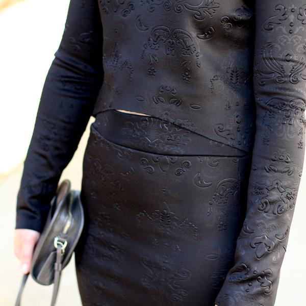 Megan Nielsen matching ponte set using Briar sewing pattern