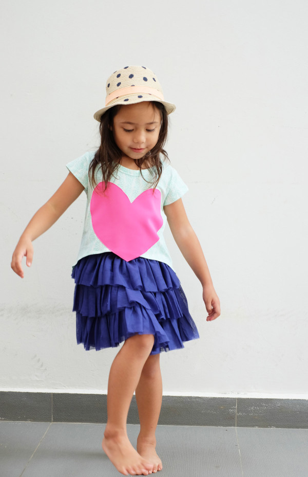 Megan Nielsen Patterns Mini Briar sewing pattern // Stylish and adaptable sewing patterns for kids