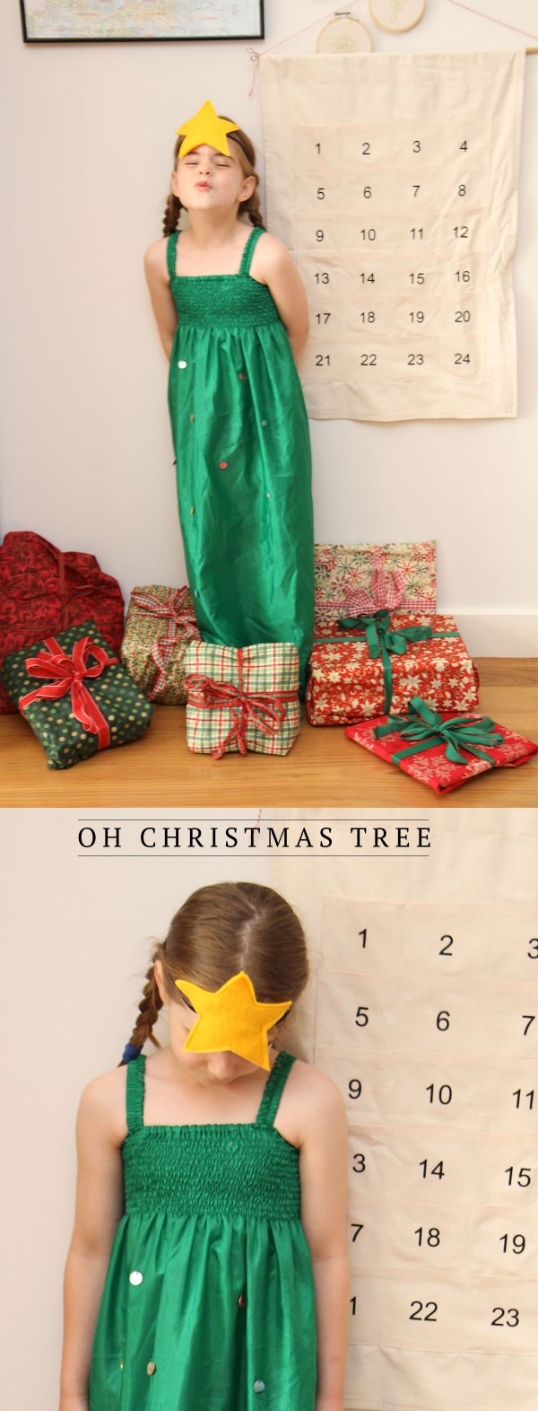 Oh Christmas tree // A costume by Megan Nielsen