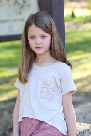 Mini Briar sweater and tee sewing pattern
