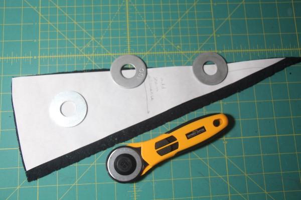 Mini Briar Triangle Cutout step 3