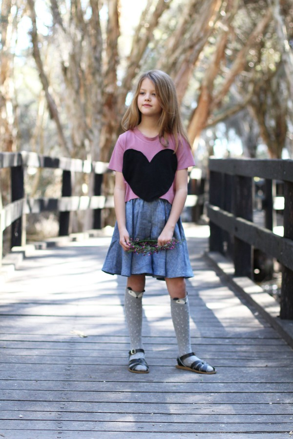 All about the Mini Tania culottes sewing pattern // Megan Nielsen Patterns // practical and adaptable designs for stylish kids