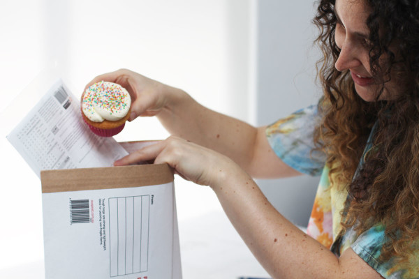 Megan Nielsen Patterns is including a cupcake with every pattern purchase!