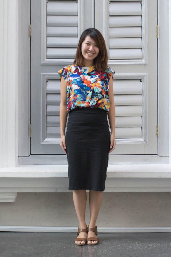 Megan Nielsen Axel skirt pattern tester roundup