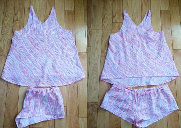 Megan Nielsen Reef pattern tester creations
