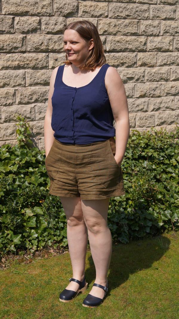 Megan Nielsen Harper shorts and skort sewing pattern tester roundup!