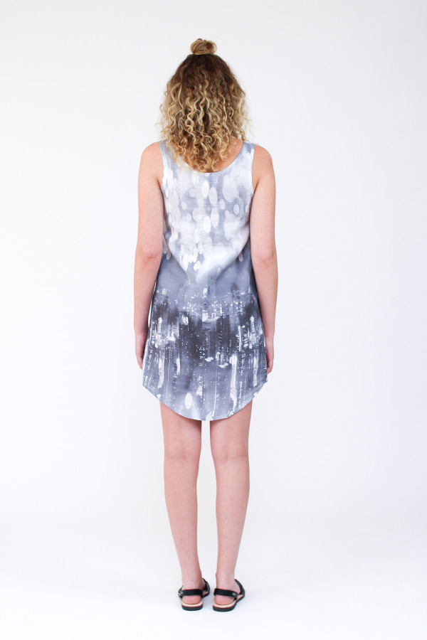 Megan Nielsen Eucalypt woven tank and dress sewing pattern