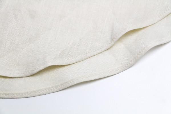 How to hem flared seams // Megan Nielsen Design Diary // Dove blouse sewalong