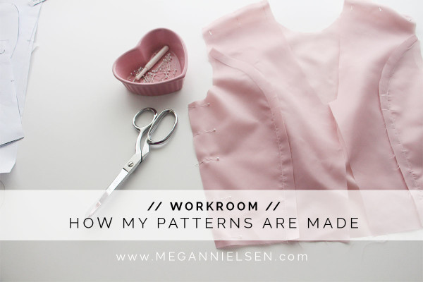 How Megan Nielsen Patterns are made