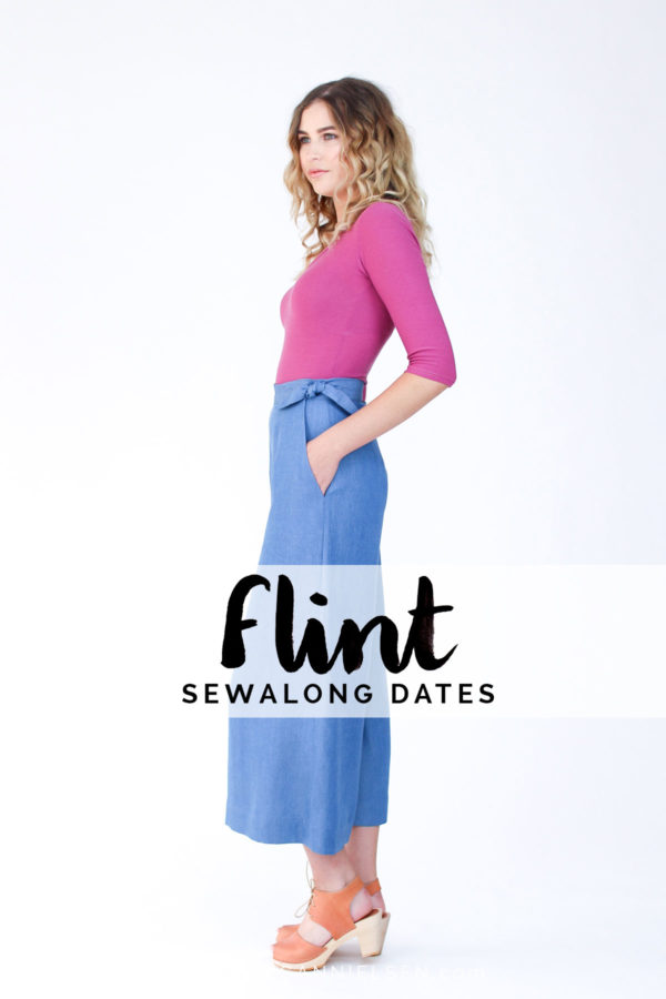 The Flint pants & Shorts sewalong starts this week!