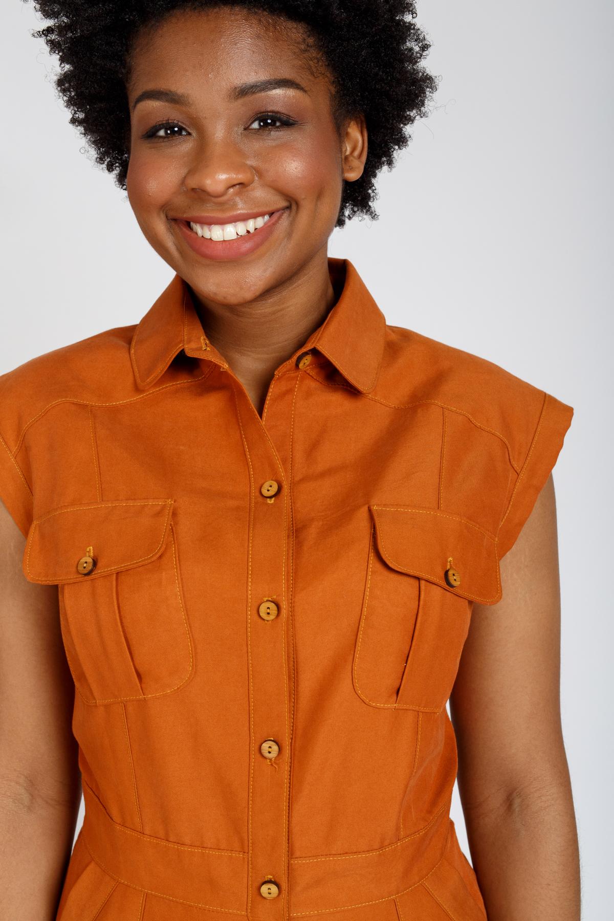 Introducing the Matilda dress sewing pattern, a modern utility shirt dress | Megan Nielsen Patterns Blog