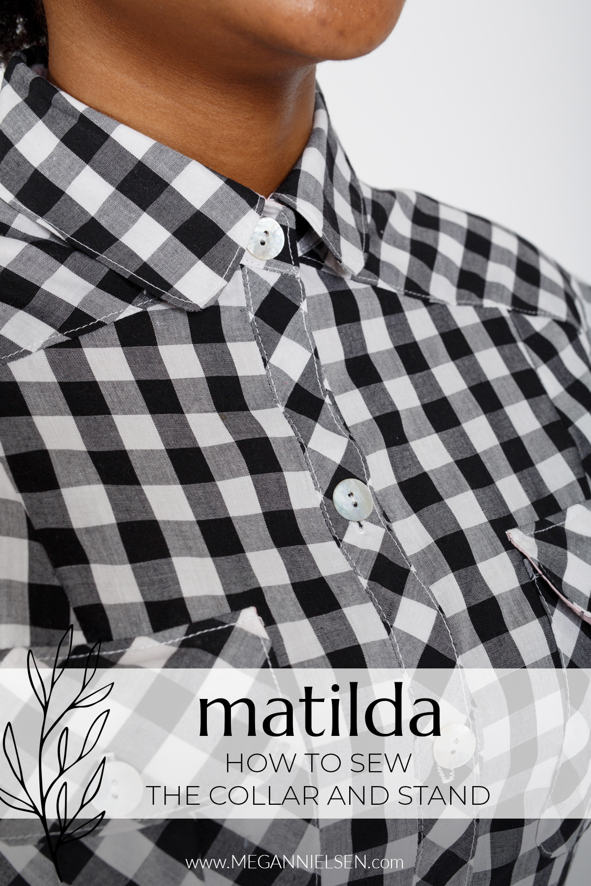 Matilda - How to sew the collar and stand