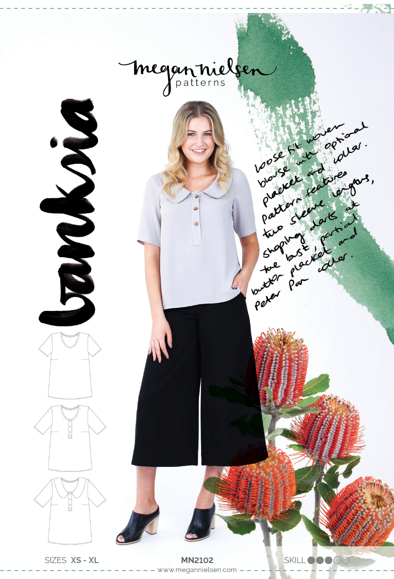 Megan Nielsen Banksia blouse sewing pattern