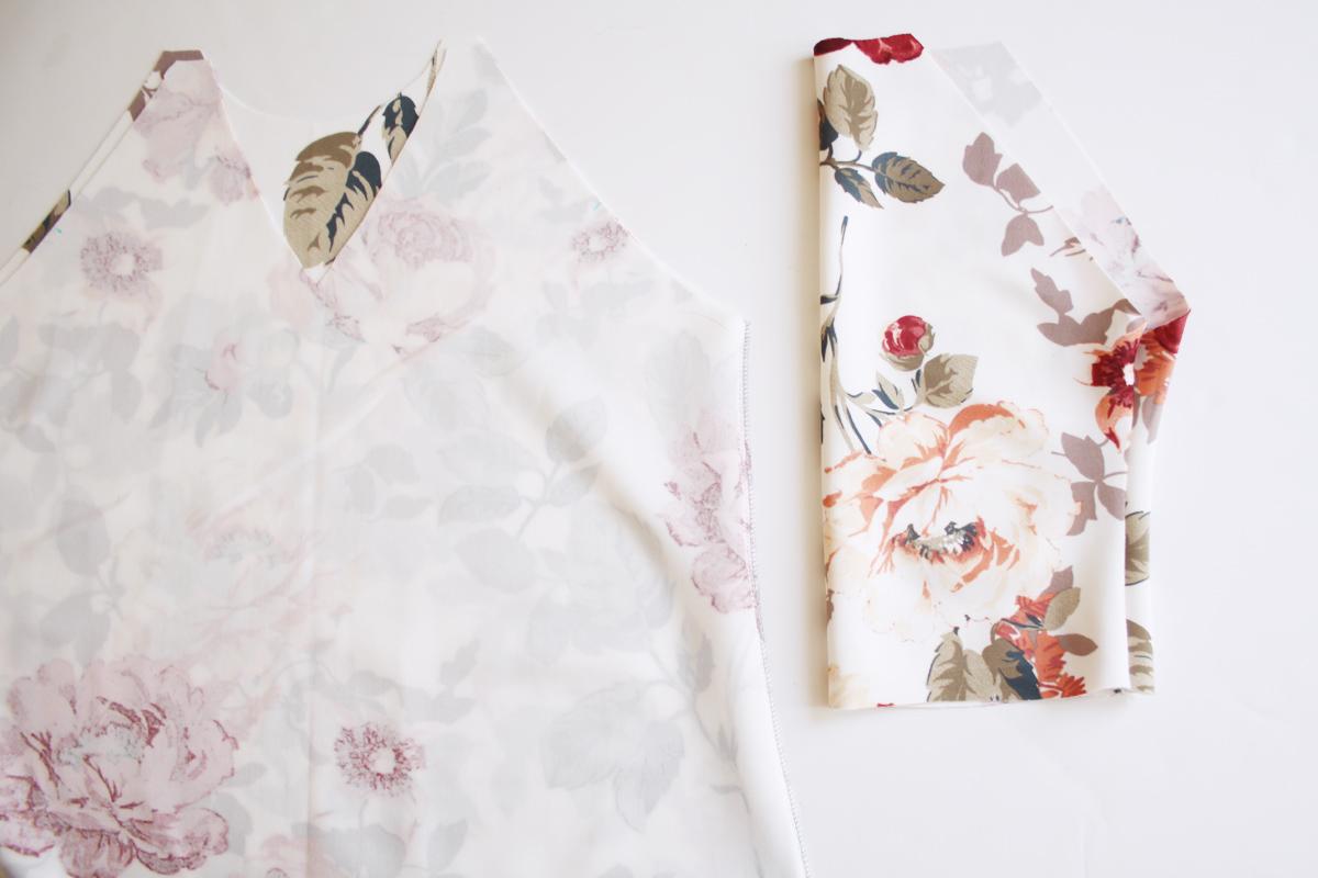 raglan sleeve in the round on the River pattern // tutorial on Megan Nielsen Design Diary