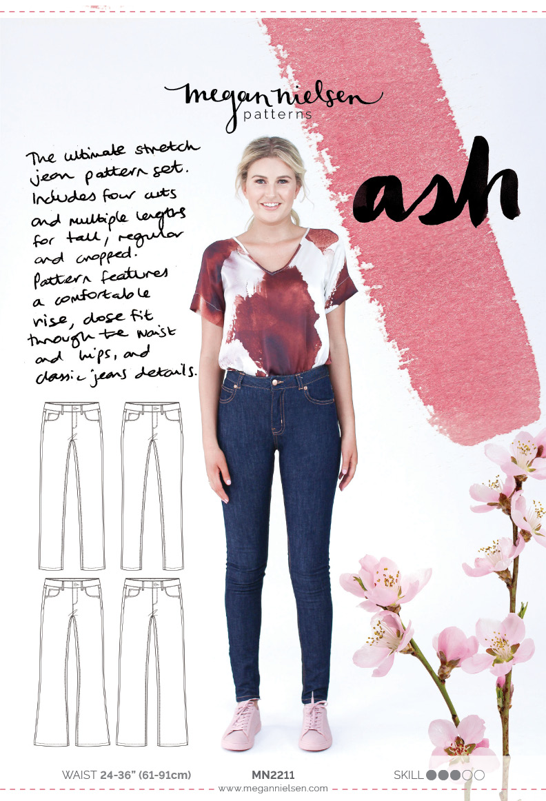 Ash jeans by Megan Nielsen Patterns