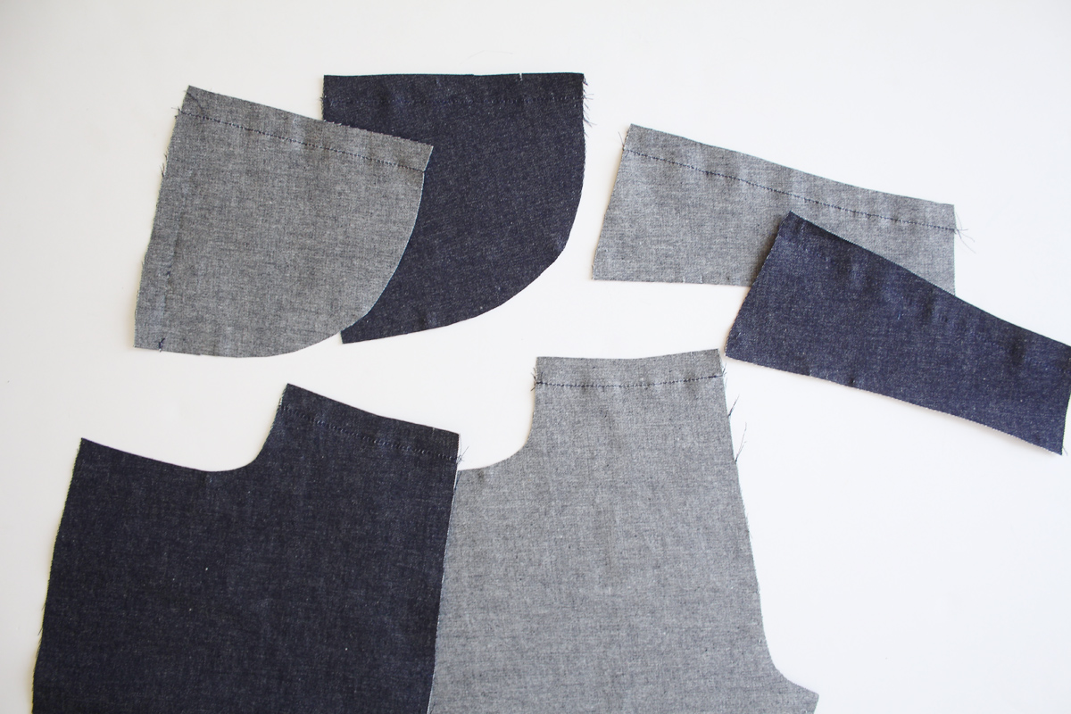 how to prep and staystitch the Ash jeans pattern // tutorial on Megan Nielsen Design Diary