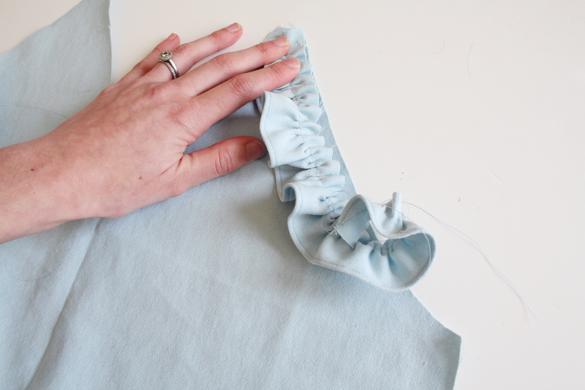 ruffle variation of the River pattern // tutorial on Megan Nielsen Design Diary