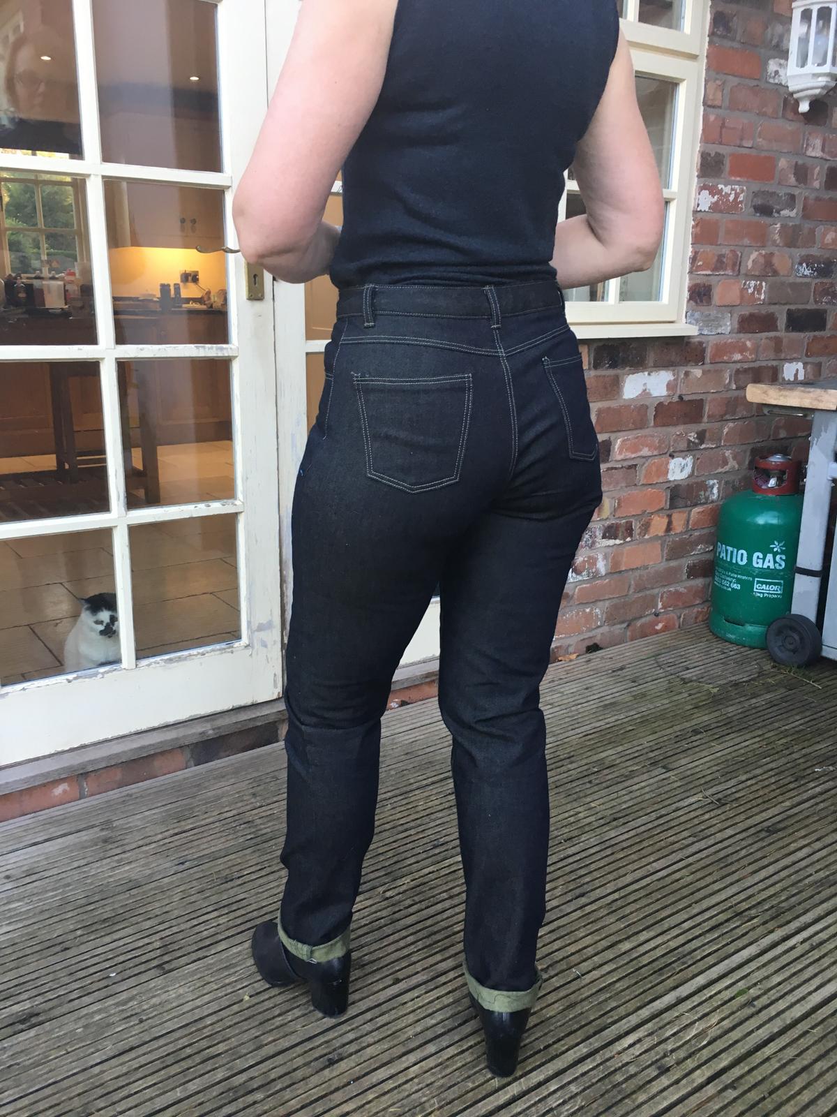 Ash jeans pattern tester roundup! Megan Nielsen Design Diary