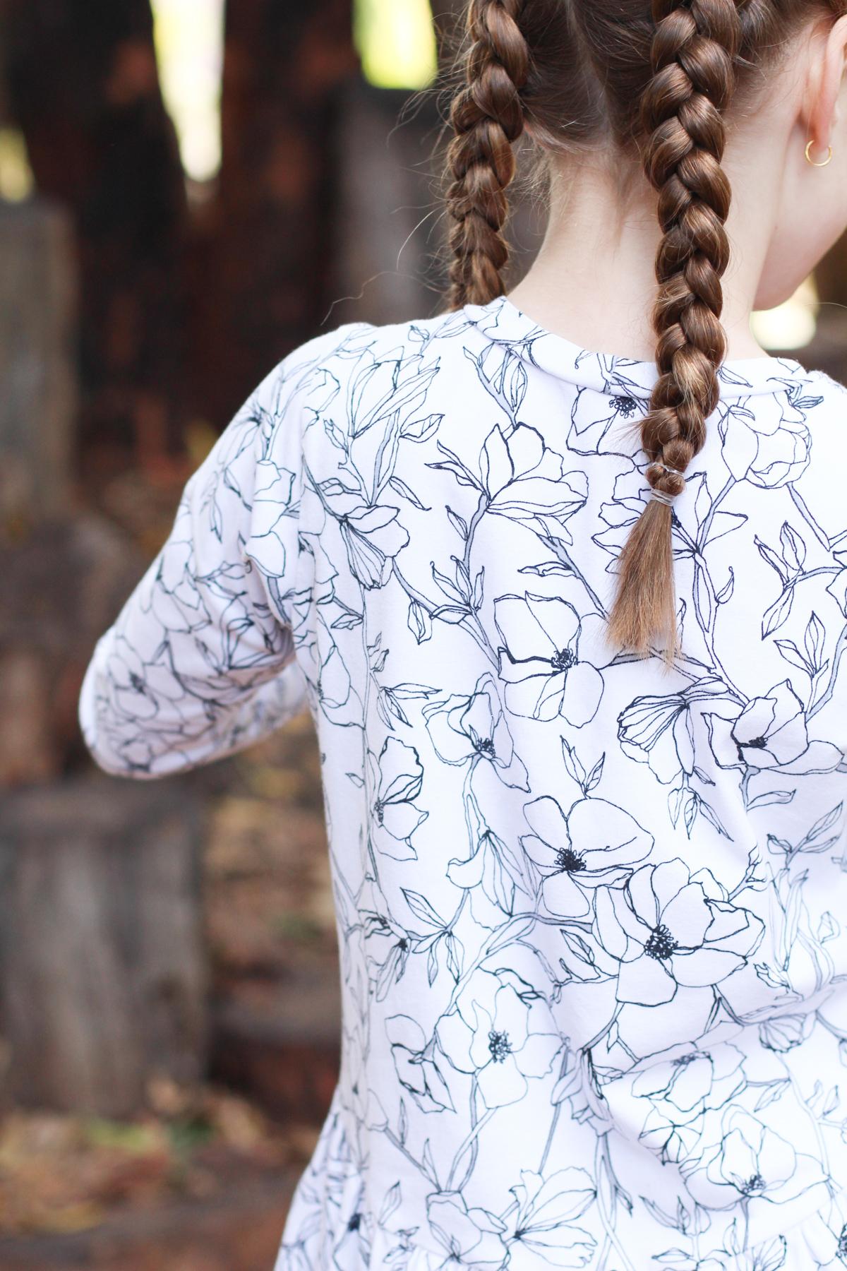Bunny's floral Mini Briar dress hack + Mini Virginia leggings