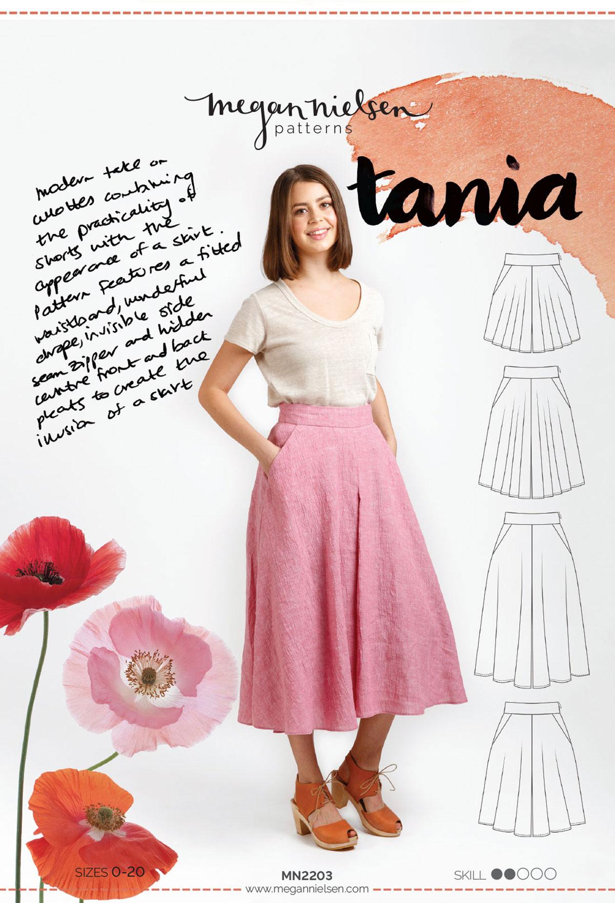 Tania Culottes Megan Nielsen