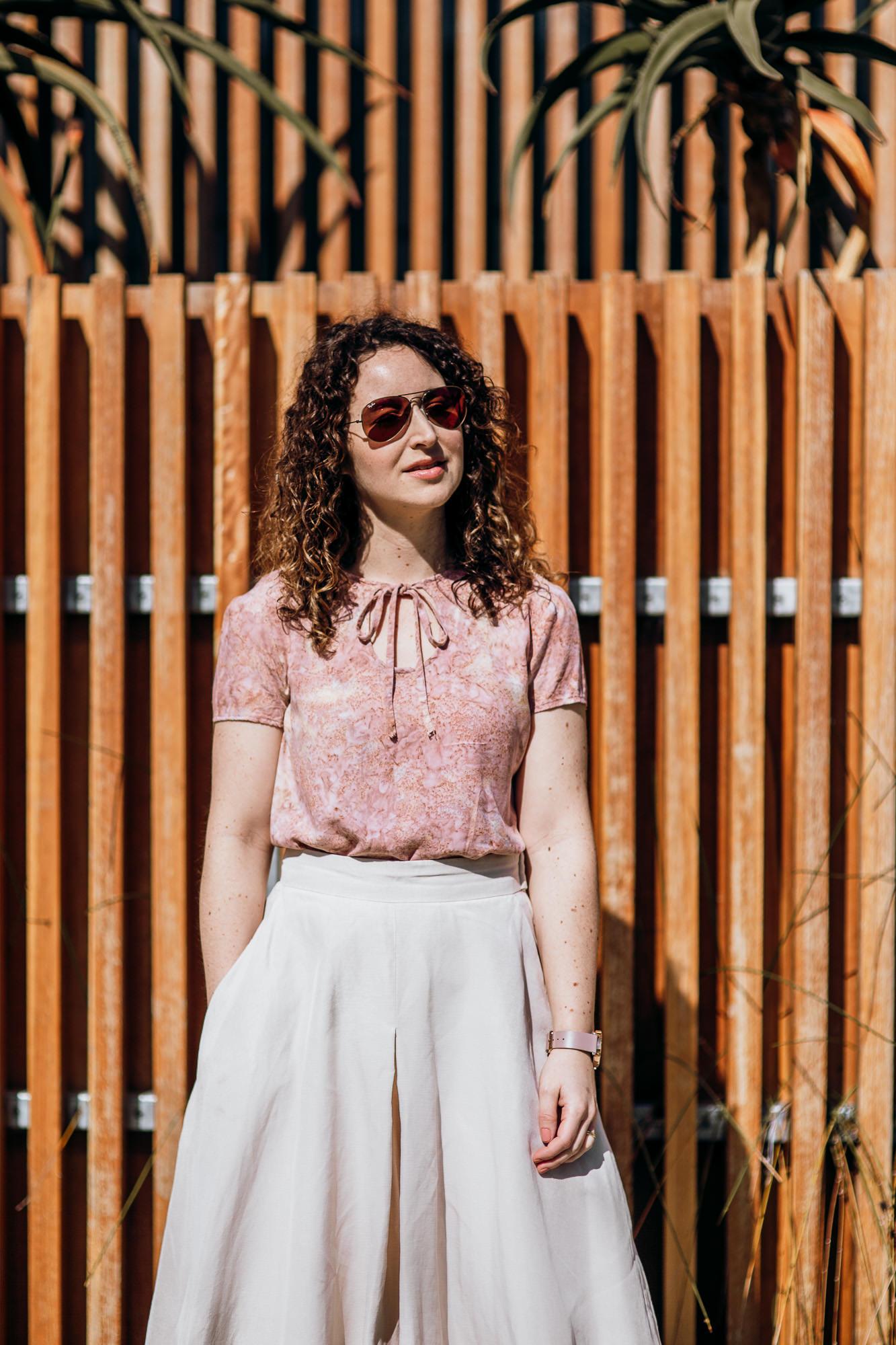 Megan Nielsen midi length Tania culottes with pockets!