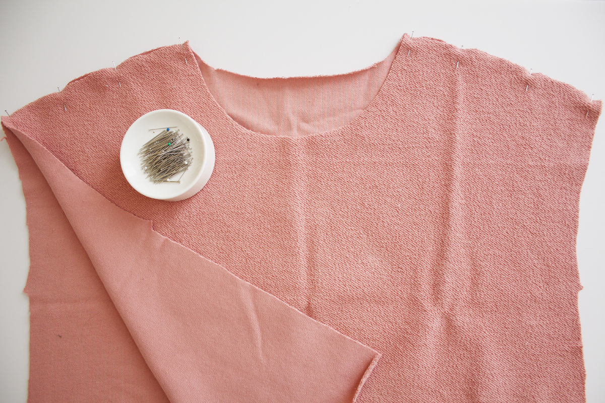 How to sew the seams on the Jarrah sweater by Megan Nielsen Patterns